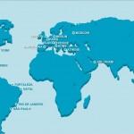 Mappa delle maggiori centrali di consulenza immobiliare WIRE Consulting che supporteranno le attività delle agenzie immobiliari italiane