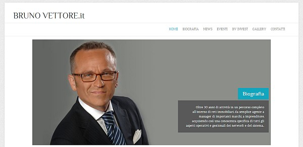 BrunoVettore.it nuovo sito Bruno Vettore: è on line il nuovo sito personale