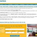 Prenota il tuo albergo day use a tariffe scontatissime su Hotelsclick.com