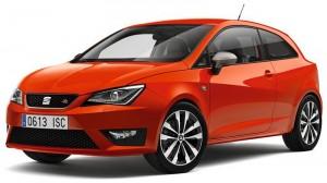 Nuova SEAT Ibiza rosso chilli