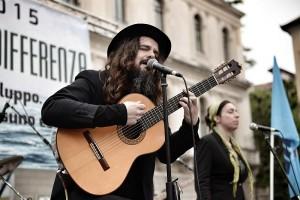 chitarra, Luca Bassanese, 1 maggio, Padova, Foto di Ronny Bellotto