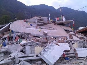 effetti del terremoto in Nepal