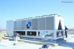 Climaveneta ERACS2-Q-XL-CA 2722 della gamma INTEGRA, Falkensteiner Hotel&Spa di Jesolo