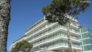 Falkensteiner Hotel&Spa di Jesolo, Richard Meier, interni Matteo Thun