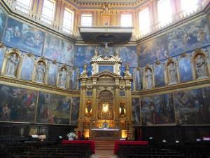 interno della chiesa di Santa Maria del Soccorso, La Rotonda, Rovigo