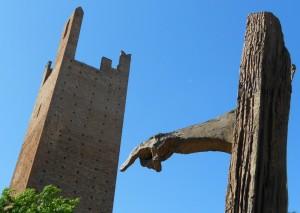 monumento a Giacomo Matteotti, torre, Rovigo