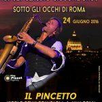 Steve Norman Spandau Ballet e DJ Claudio Ciccone Bros, al Pincetto di Roma, venerdì 24 giugno 2016.